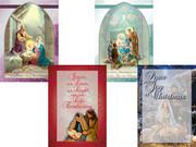 Budget Christmas Cards Pkt 8 (CDX2064)