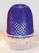 Candle Holder: Blue (Pinapple Lamp) (GE971B)