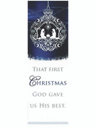 Christmas Bookmark: First Christmas (BMX3348)