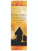 Christmas Bookmark: Joy to World (BMX3336)