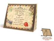 Jardin Series Plaque: Thinking of You