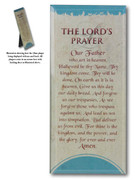Message in Glass Plaque: Lord's Prayer