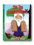 Childrens Colouring Book: Ten Commandments (Ages 4-7)