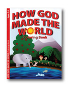 Childrens Colouring Book: How God Made the World (Ages 2-5)