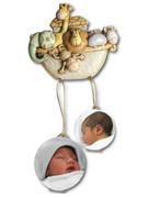 Noah's Ark Mobile Baby Frames