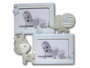 Baby Animal Photo Frame Blue