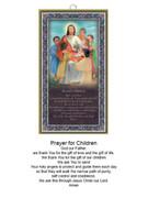 Wood Plaque: Jesus and Children (PL18PC)