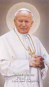Holy Card (each): Saint John Paul II
