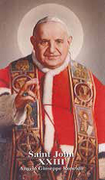 Holy Card (each): Saint John XXIII
