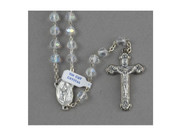 Crystal Rosary 7mm(AB): Clear (RX112C)