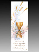 Bookmark: Communion Wheat & Chalice(BMC036)