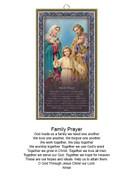 Wood Plaque: Family Prayer (PL1804)