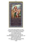 Wood Plaque: St Joseph (PL1816)