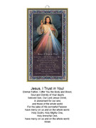 Wood Plaque: Divine Mercy (PL1858)