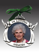 Christmas Ornament/frame, In Loving Memory (CO621)