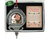 Christmas Ornament/frame, Christmas In Heaven