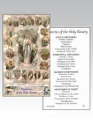 Holy Cards(each)  Lourdes / Mysteries