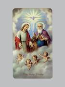 400 Series Holy Card (laminated) Holy Trinity