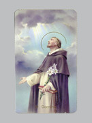 400 Series Holy Card (laminated) St Dominic