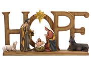 Nativity Scene HOPE (NST10124)