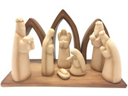 Stylised Nativity All-In-One Scene 15cms (NS10080)