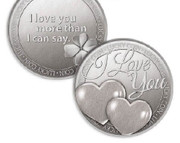 Lucky Coin: I Love You Heart