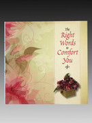 Book - Right Words to Comfort You
