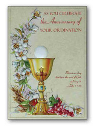 Ordination anniversary cards pack 6 ark religious supplies ordination anniversary cards pack 6 m4hsunfo