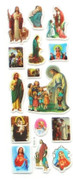 Stickers: Traditional Religious Images (5 sheets) (SKCATH)