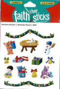 Stickers: Christmas Cheer (6 sheets) (SK98211)