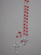 CRYSTAL ROSARY 6mm bead, Ruby(RX906R)