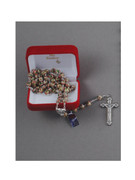 Quality Rosary: 7mm Cloisonne Bead Pink (RXCERP)