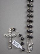 Precious Stone Rosary: Hematite 6mm Bead (RX5526HE)