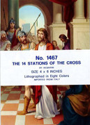 Stations of Cross Set 14 Prints (4x6in)(PI1467)
