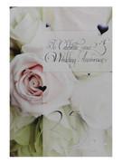 Greeting Cards(6): 25th Wedding Anniversary(CD20627)