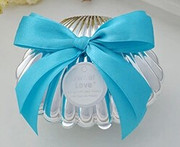 Clam Shell Gift/Bonbonniere Box (BOX107)