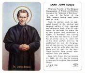 TJP Holy Card:St John Bosco (TJP251A)