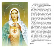 TJP Holy Card:Immaculate Heart of Mary (TJP263)