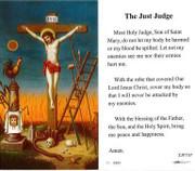 TJP Holy Card: The Just Judge (TJP737B)