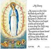 TJP Holy Card: My Rosary (TJP756)