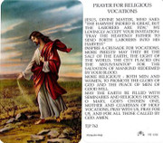 TJP Holy Card: Prayer for Religious Vocations (TJP762)