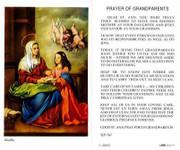 TJP Holy Card: Prayer of Grandparents (TJP767A)