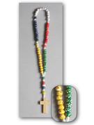 Children's Rosary Wood Bead/Cord (RO5892)