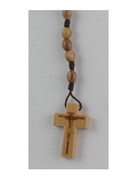 Cord Rosary with Wood Beads (RORC22)