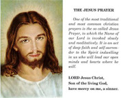 TJP Holy Card: The Jesus Prayer (TJP808)