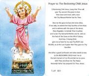 TJP Holy Card: Prayer to the Beckoning Child Jesus (TJP831)
