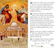 TJP Holy Card: Jubilee 2000 AD (TJP848)