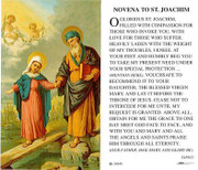TJP Holy Card: Novena to St Joachim (TJP855)