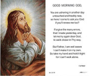 TJP Holy Card: Good Morning God (TJP859)