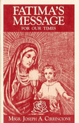 Booklet: Fatima's Message for Our Time (FATIMA M)